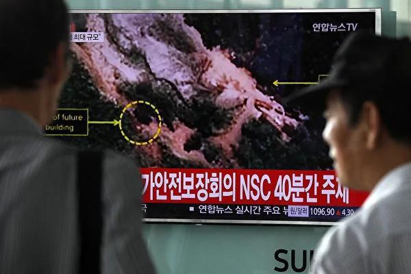 朝鲜核试验场异动 美航母海上飘移 川普更新对朝作战计划