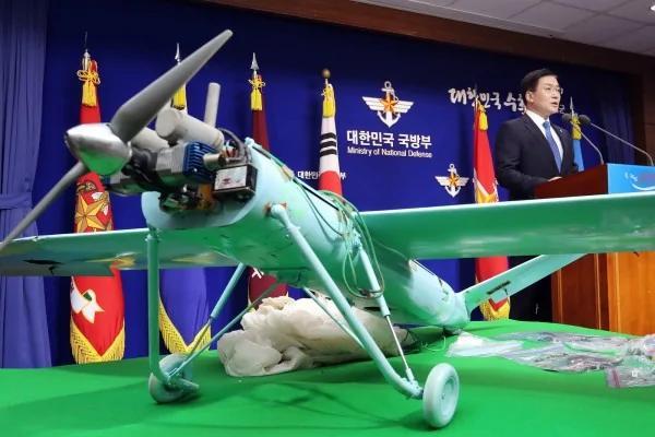 北韩无人机拼装多国零件 南韩:可载生化武器