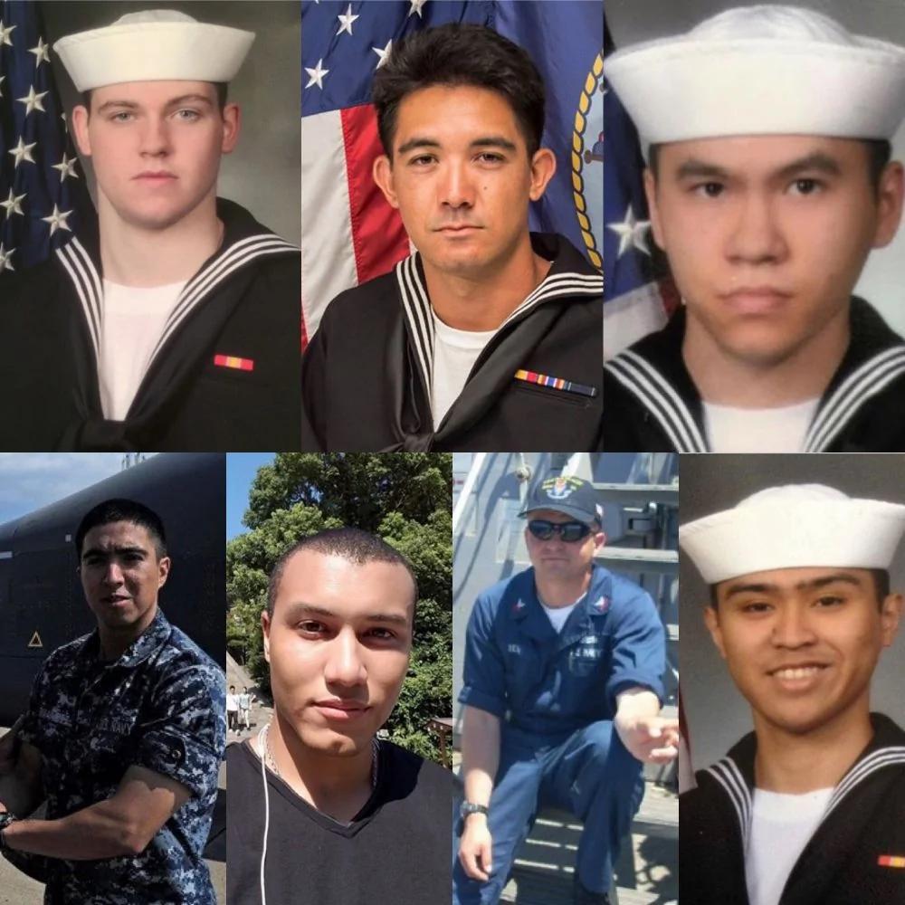 軍官為挽救被撞軍艦 關門致連救20戰友水兵溺亡