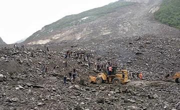 三峽大壩又惹禍?四川發生山體垮塌 100多人被埋