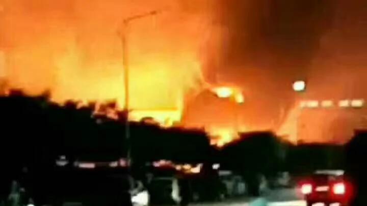 山东平度一化工厂大爆炸 中共官员拒回应伤亡情况