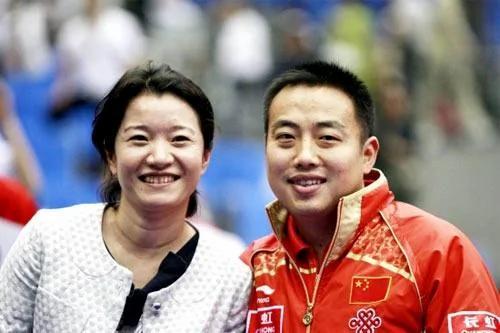 刘国梁背后的女人 默默坚守25年