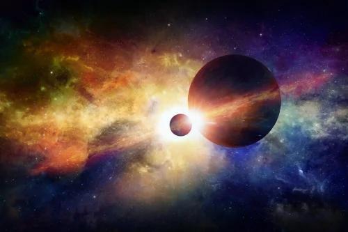 暗物质使宇宙中的星系团高速运动而不崩溃