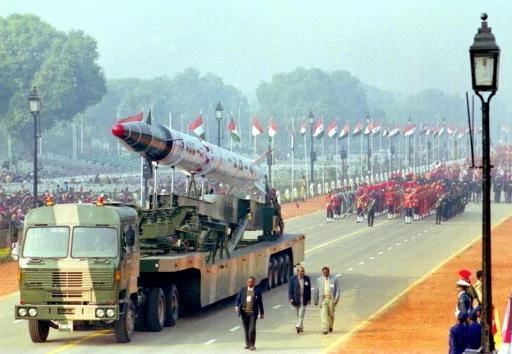 外媒;印度核弹瞄准中国 中印核弹对决谁更胜一筹?