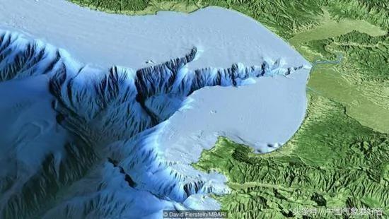 美国人在海底发现可比长江的大河