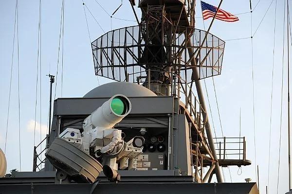 光速殺敵!美海軍擁全球首座雷射武器