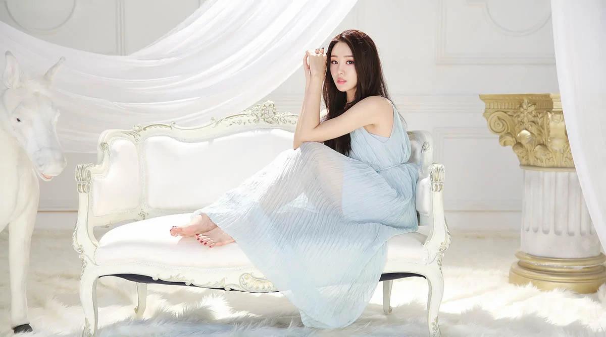 韩国的自然美人 她是世界最美的一百个女人之一