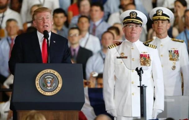 美核动力航母服役 特朗普促国会尽快批军费