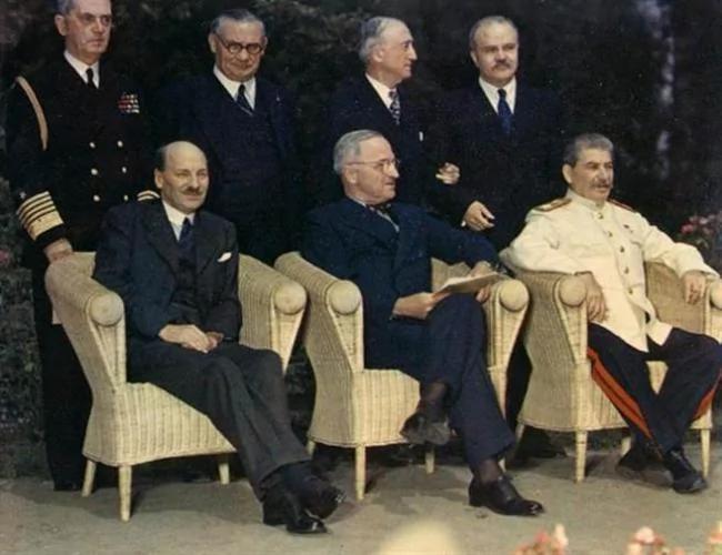 台媒:波兹坦宣言 确定开罗宣言效力