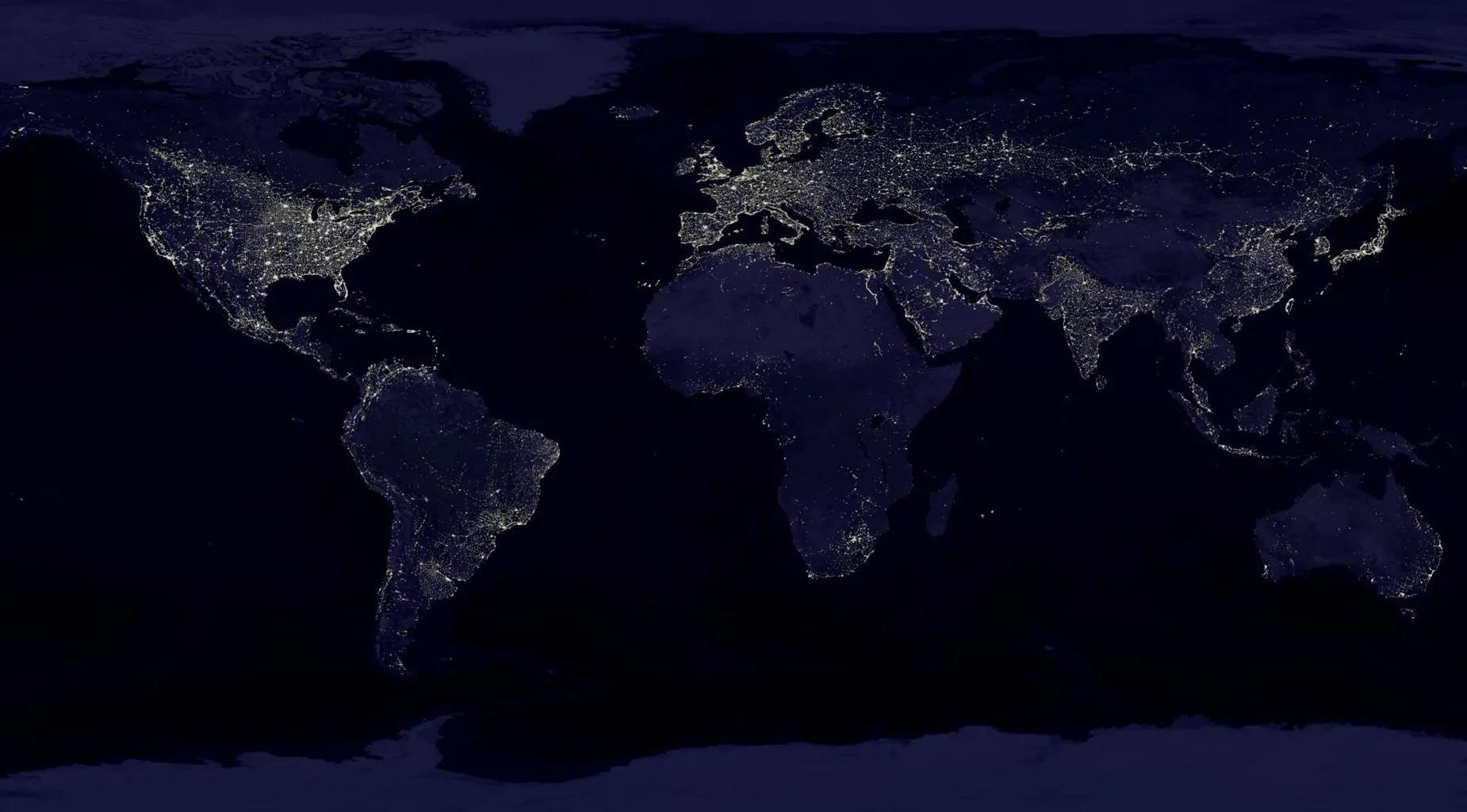 外媒:用卫星监测可明显看出地球在被什么驱动
