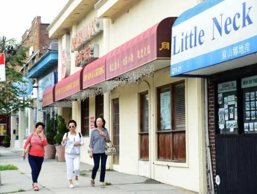异军突起!华人餐馆争先进驻纽约小颈 生意红火