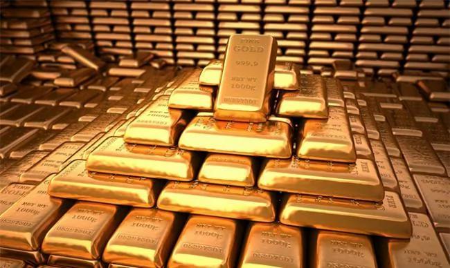"""美国金库有多大?美联储在地下""""埋""""6200吨黄金"""