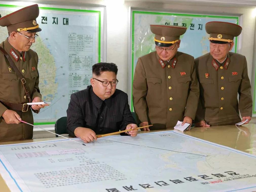 金正恩箭在弦上 川普示警北京五大要点