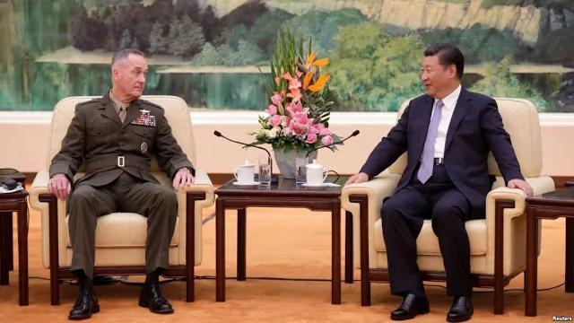美军最高指挥会习近平访中朝边境 被指极罕见 川普真要动武?