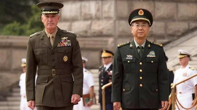 习近平、范长龙见邓福德 中美2军关系有进展