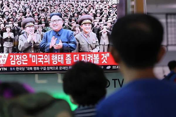 面对危机 韩国人的集体表情