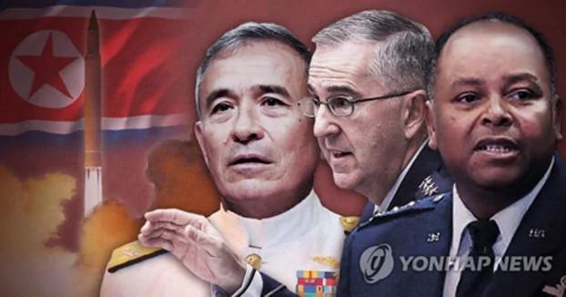 美军诸指挥官齐聚韩国 军演至实战仅一线之隔