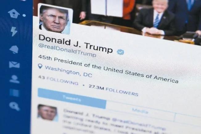 川普若停用推特 推特市值將蒸發20億美元