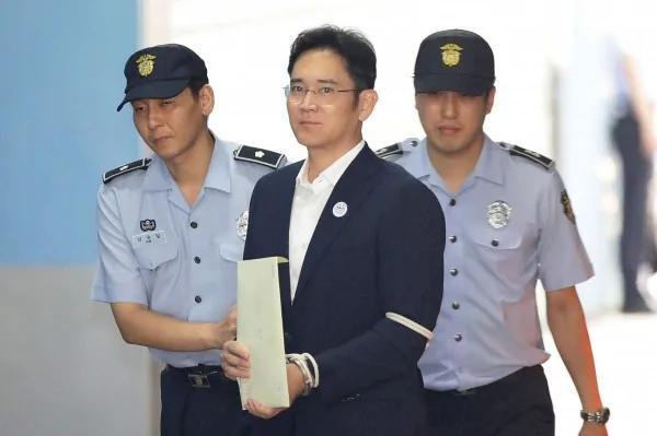 不服一审判5年 三星少主李在镕提上诉