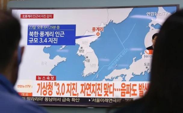 专家指北韩3.5级地震 是上次核试余震