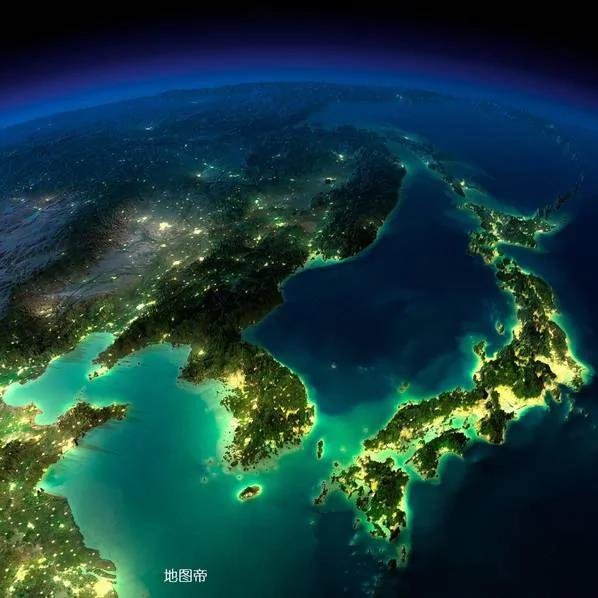 从太空看世界各地夜景 你喜欢哪一个?
