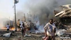 索马里首都发生爆炸 死者超过200人