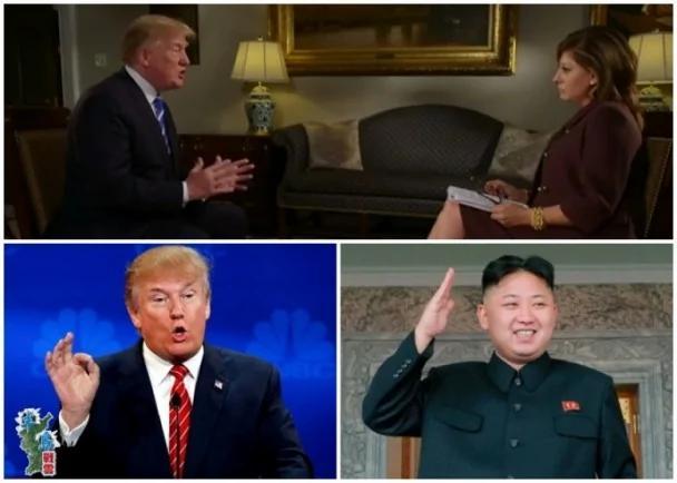 特朗普访华前专访 将要求中方向朝加强施压