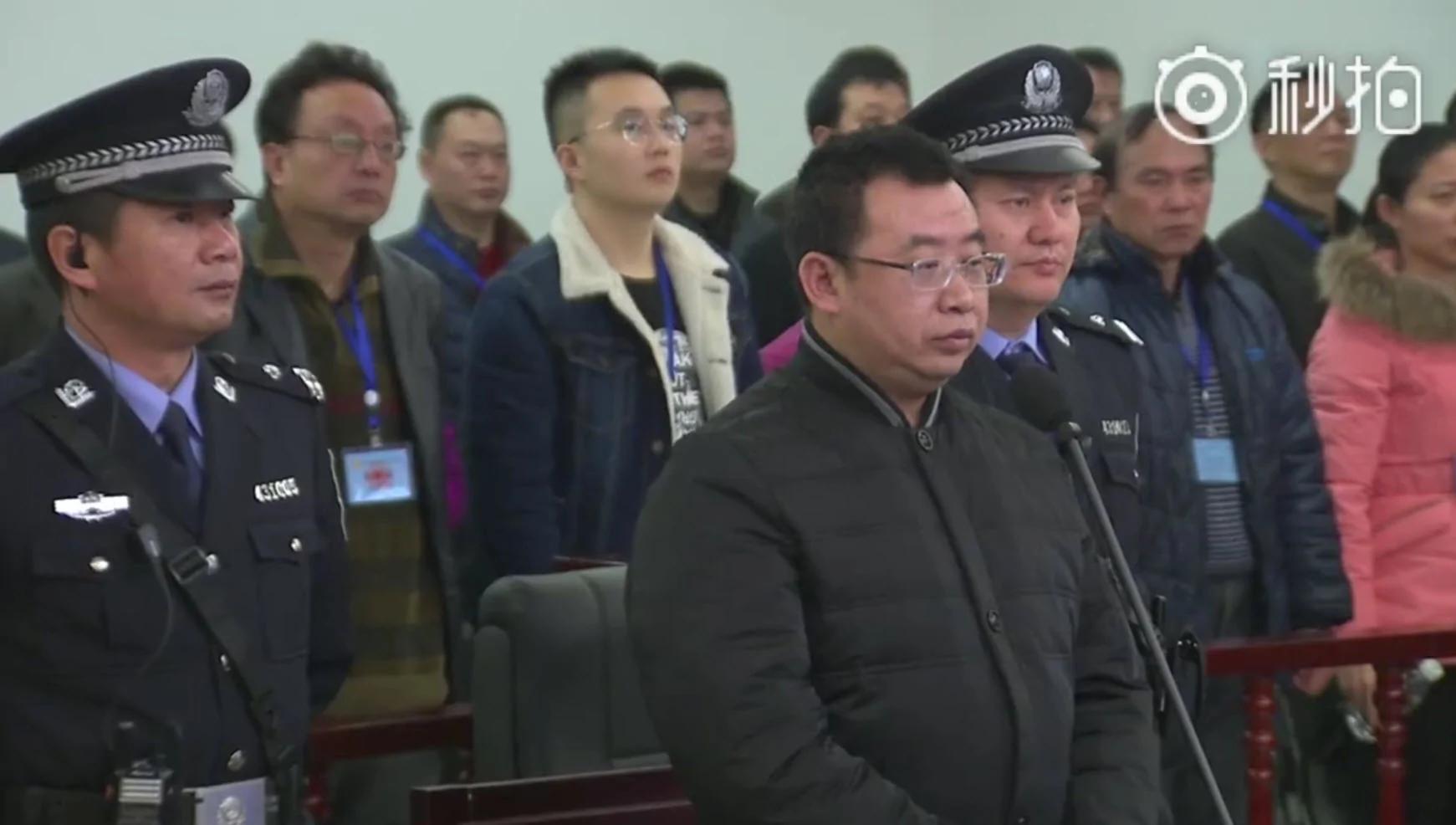 """人权律师江天勇被判""""煽颠""""入狱两年 长沙法院如临大敌"""