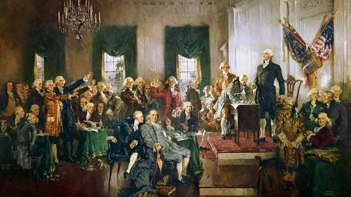一部宪法和一个国家