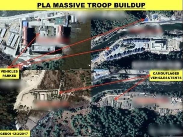 印媒:中方在洞朗续建基地 可容逾5千军力