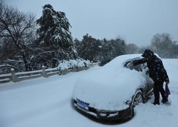 大陆暴雪! 14个机场服务受阻 111条高速局部封闭