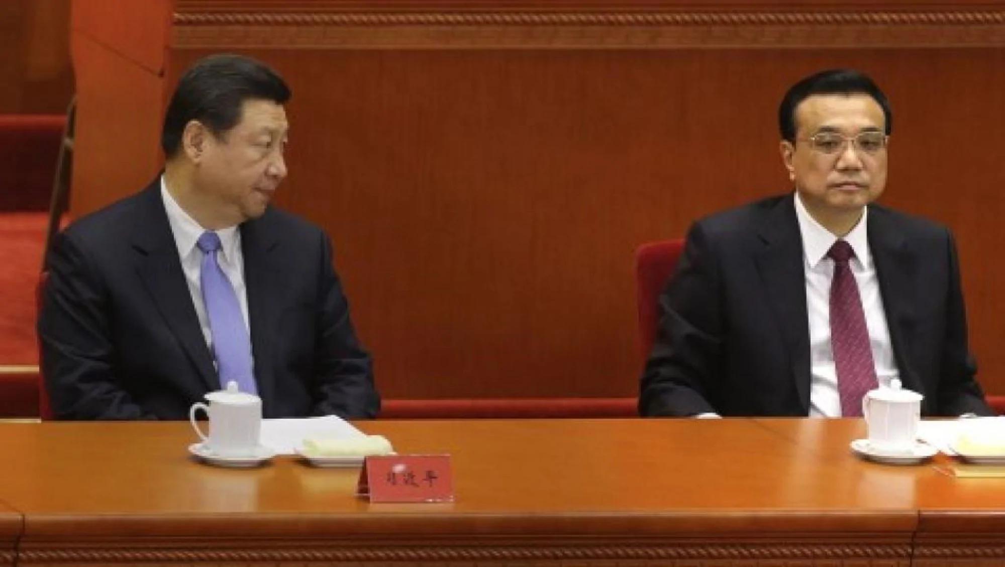 Image result for 习近平 李克强 中国经济