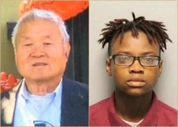 华裔老人赴美探儿遭枪杀 16岁非裔女被捕