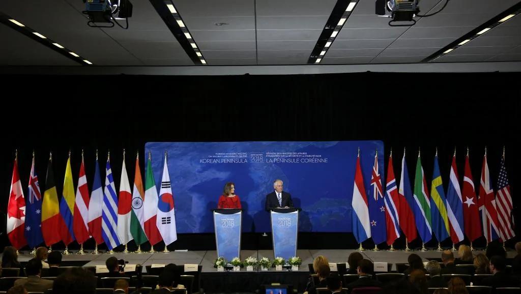 温哥华峰会决定加强对朝鲜的海上封锁