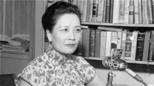蒋夫人宋美龄曾经回了一封公开信给廖承志,直指中共痛处!