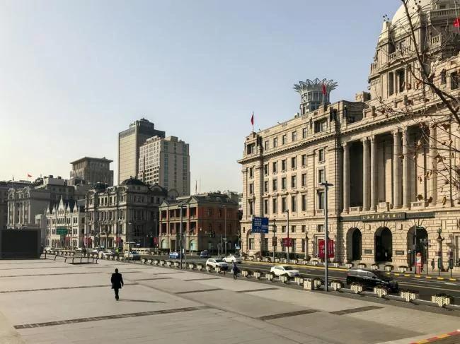 上海怎么啦?变得这样空荡荡