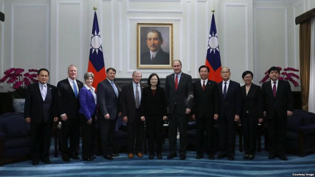 美国会议员保证:对台湾的爱永远不会减弱