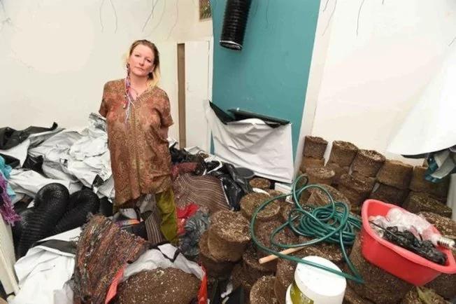 她去环游世界 回来发现自家已变大麻种植场