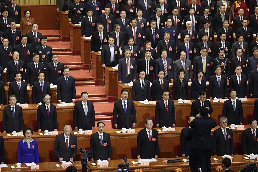 五名政治局委员是两会新面孔 政协开幕范长龙 李源潮又露面了