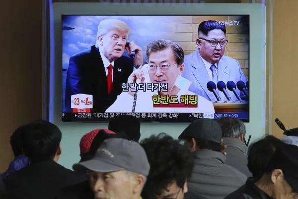 快讯:赞北韩大有进步 川普:5月前和金正恩会面 网络炸锅