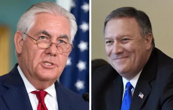 川普推特宣布开除国务卿提勒森 由CIA局长接任