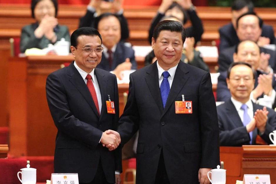 習近平任命李克強為中共國務院總理(圖)