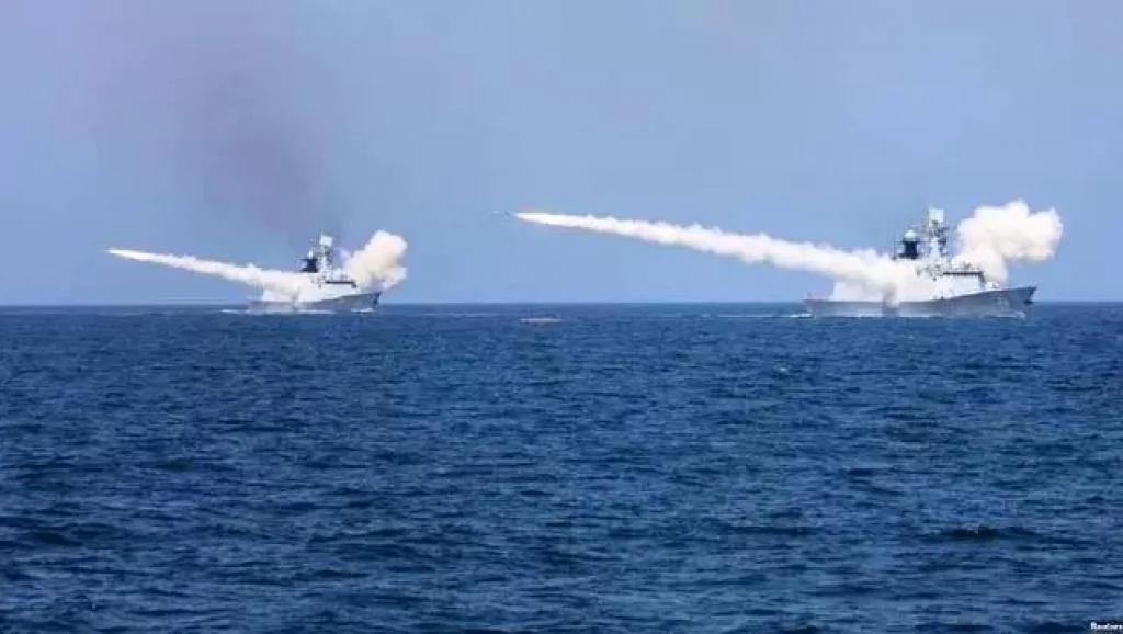 中共台海军演露弄巧成拙 专家:中共有三大目的