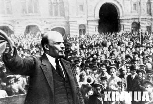 列宁是德国特务 靠德皇资助窃取政权(图)