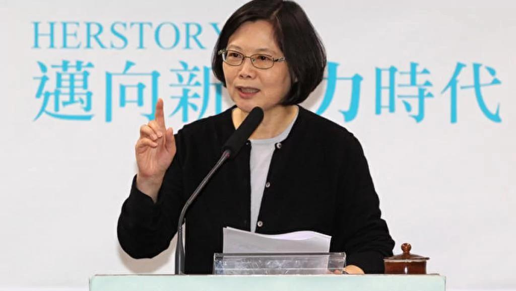 蔡英文执政两周年 虽遭打压台湾民众支持过半今谈裙子吸睛