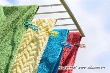 毛巾用久了變得又黃又硬 巧用妙招來恢復!