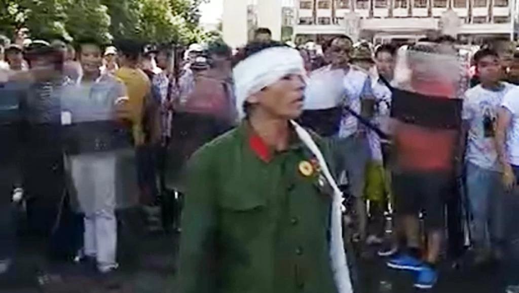 各地老兵持续增援 中共封路封锁消息 镇江沦为战区