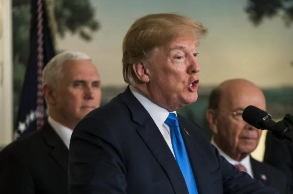 川普推特呛声 美国将打垮贸易壁垒